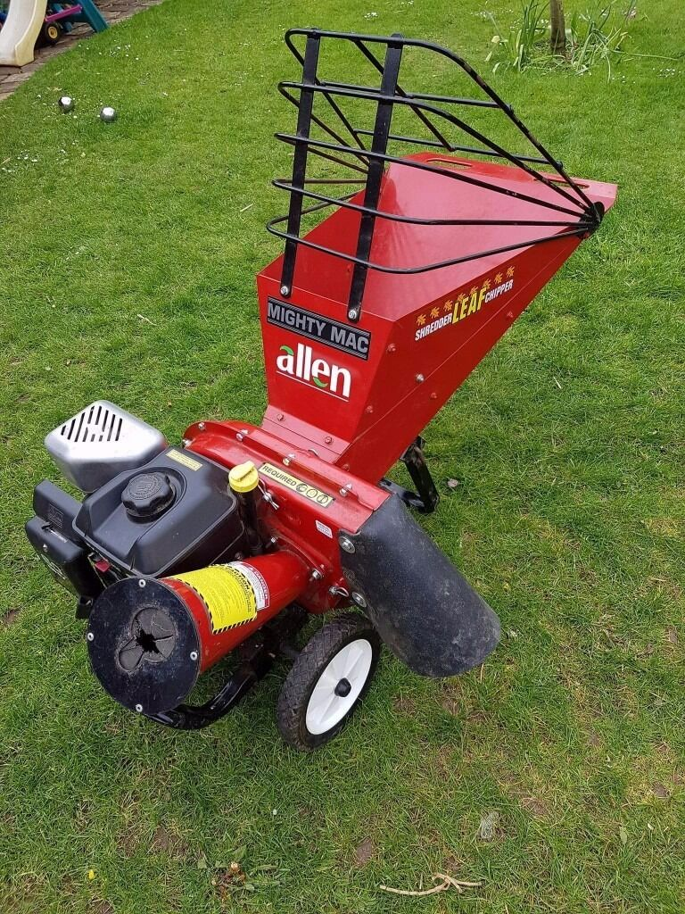 Allen Mighty Mac Garden Chipper Shredder 6hp