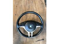 BMW e46 steering wheel