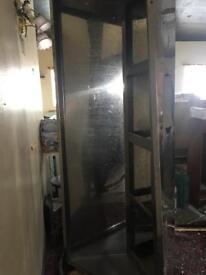 extractor canopy mirror finish