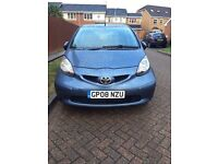 Toyota Aygo 1.0 5 Door Manual Petrol 2008 Small, Economical & Cheapest Insurance Car *REDUCED*