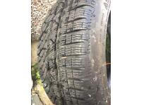 2 Michelin tyres 255/40 R19