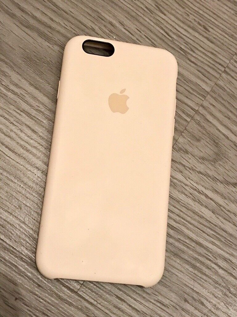 iPhone 6/6s Silicone Case - Genuine Apple Accessory - Antique White - Excellent Condition - £25
