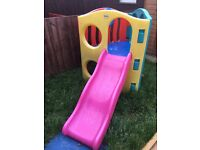 Little Tikes Wave Climber Playset with slide