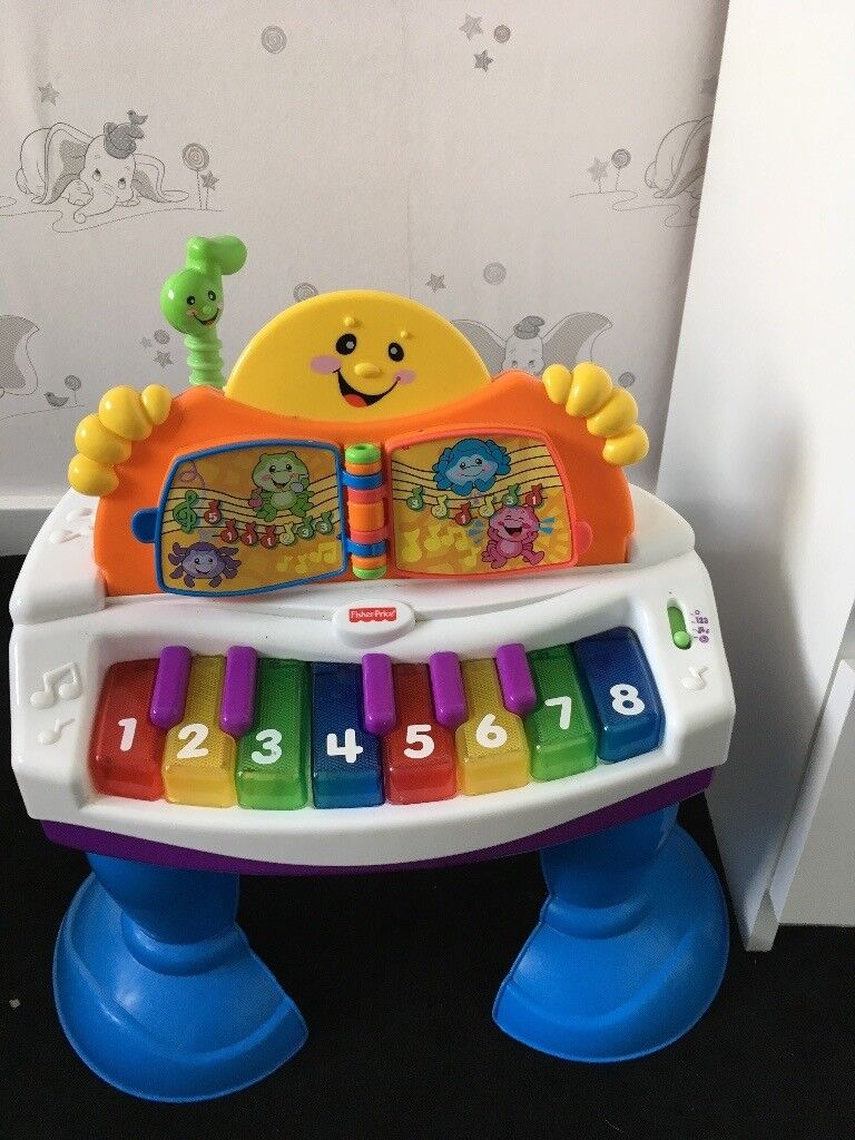 Fisher price piano table