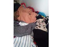 Womens clothing job lot (apqox 64 pieces)size8/14