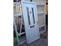 Choice of 2 pvc door and frames complete free local delivery if required