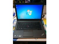 "lenovo thinkpad t450 ultrabook core i5-5300u @ 2.30ghz (500gb,16gb) 14"" screen with cam 5th gen"