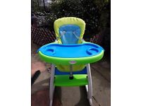 High chair 2 in 1