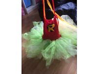 Robin tutu fancy dress