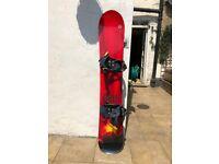 Rosignol Nomad 2 Snowboard, Ride Preston EX bindings, UK9.5 boots and board bag