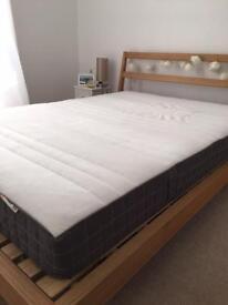 Memory foam standard double mattress - Ikea