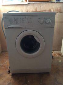 Indesit washing machine. Hardly used.
