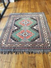 Beautiful large colourful Afghan rug