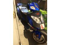 125 scooter £575 mot till august 2213 miles only!!!