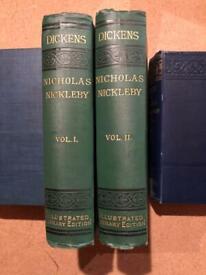 Nicholas Nickleby by Charles Dickens volume 1&2