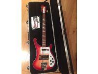 Fireglo Rickenbacker 4003 Bass Guitar - 2015