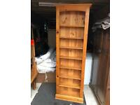 Solid pine Storage bookcase shelving display unit. Can deliver.