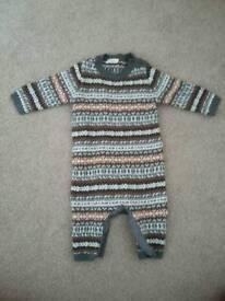 Never worn NEXT baby suit
