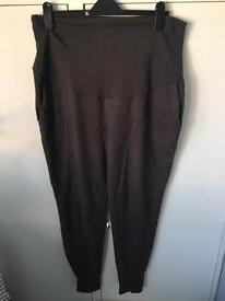 H&M grey maternity joggers size XL