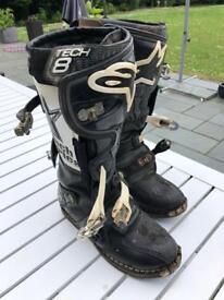 Alpine star Tech 8 motocross boots