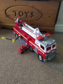 Paw patrol fire engine