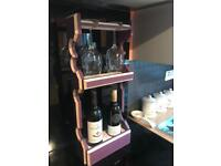 Handmade wine racks 🍷
