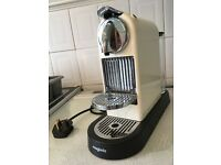 Nespresso coffee machine M190 in beige