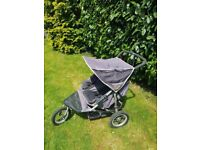 Nipper 360 double buggy from out and about