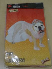 DOG COSTUME - PRINCESS - NEW IN PACKAGING