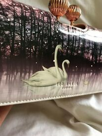Limited Edition Leather Swan Manitee Ted Baker Purse