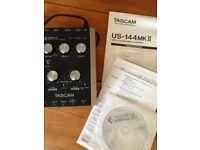 TASCAM USB 2.0 Audio/MIDI Interface