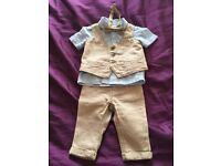 4 piece Boys suit - size 3-6 months for sale