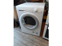 condensor tumble dryer large load as new little used,model still in shops.