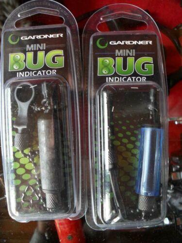 2 x Gardner Mini Bug Indicators Blue Black Alarm Bite Indicators Hanger Drop Off