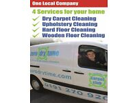 Dry Carpet / Upholstery/ Hard Floor Cleaning