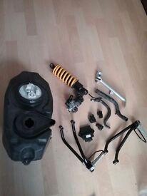 Yamaha yzf125 parts 08 on
