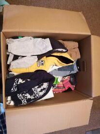 Bundle of baby clothing (boy)