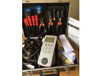 Complete PAT Testing Kit. Brand New Never Used BARGAIN SEAWARD Portable Appliance Tester