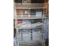 7 LARGE DISPLAY WIRE BASKETS STACKABLE
