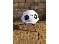 Football shaped BBQ