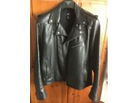H&M Real Leather Jacket