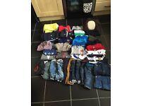 Boys designer clothes bundle 0-3 months