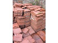 Vintage roof tiles
