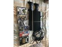 PS3, 2 x wireless controllers and vintage games. Must go!!!