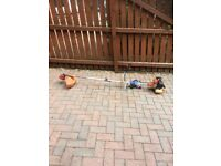 Garden strimmer new head fitted petrol very good condition £25