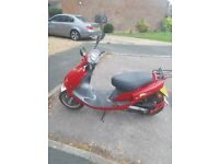 50cc moped, good condition, recently bought second hand but selling for upgrade.
