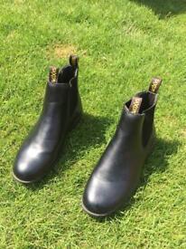 saxon equestrian ladies riding boots (Size 8)