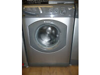 Hotpoint Aquarius Washing Machine in Graphite - 1400 RPM