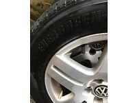 Alloy wheels 195/65/15