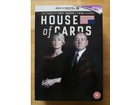 House of Cards DVD + Digital ultraviolet The Complete 1, 2 and 3 Seasons